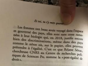 """Extrait du roman de Myriam Levain """"Et toi tu t'y mets quand ?"""""""