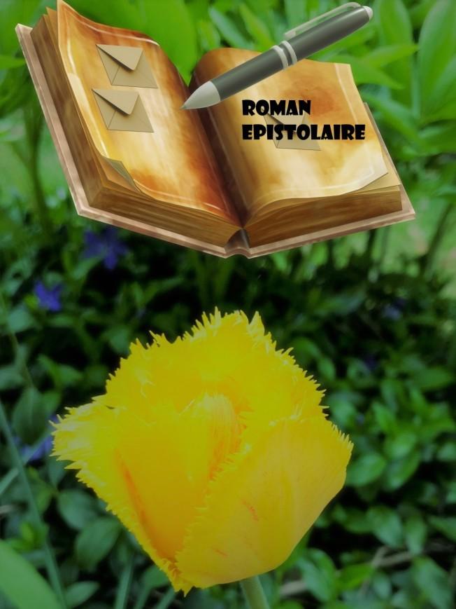 Illustration roman épistolaire